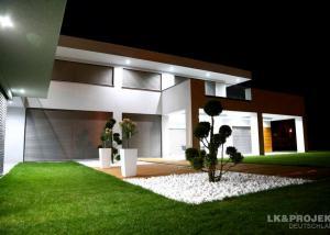 Diese schicke Villa ist schon fertig. Wem gefällt unser Projekt LK&900?