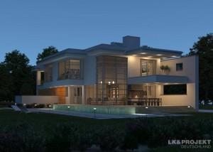Schicke Villa mit moderner Einrichtung