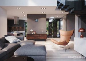 Modernes Designer-Haus mit viel Komfort