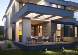 Stylishes Architektenhaus